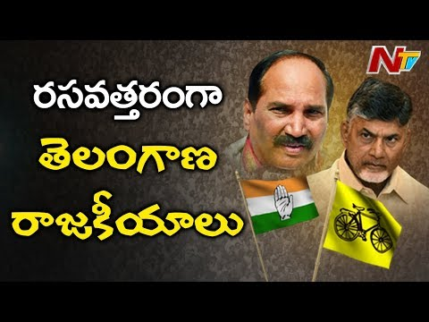Chandrababu to Meet Uttam Kumar Reddy Today Over TDP-Congress Alliance | NTV