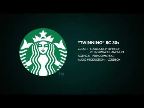 "Starbucks Philippines 2016 Frappuccino & Friends ""Twinning"" radio 30s"