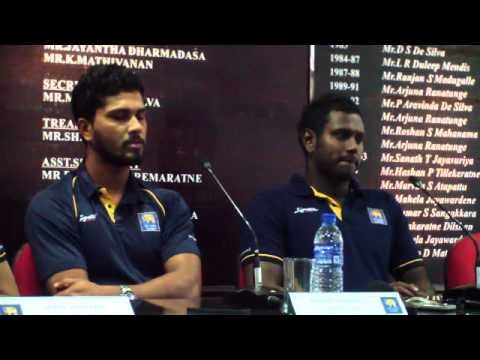 Post Tour Press Conference - Sri Lanka Tour of New Zealand 2015-16