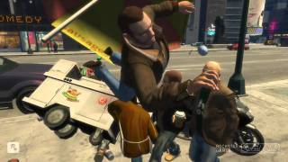 GTA IV Crazy&Funny Bike crashes 2