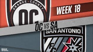 Orange County SC vs San Antonio FC: July 14, 2018
