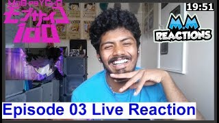 Mob vs Dimple - Mob Psycho 100 Anime Episode 03 Live Reaction