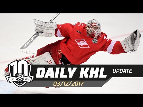 Daily KHL Update - December 3rd, 2017 (English)
