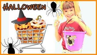Bé Peanut Đi Mua Đồ Trang Trí Halloween - mua sắm halloween Hoá Trang Halloween (PEANUT'S VLOG)