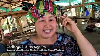 HeritageTrail: Weaving at Ban Mai.