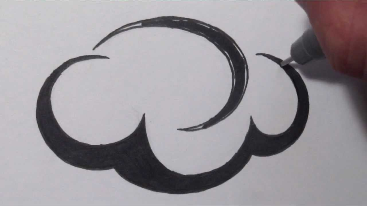 Cloud Designs Drawings How to Draw Clouds Tribal