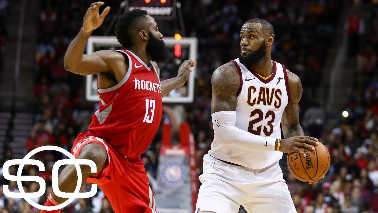 Who's the MVP: LeBron James or James Harden? | SportsCenter | ESPN