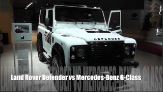 Land Rover Defender 2015 vs Mercedes-Benz G-Class 2015