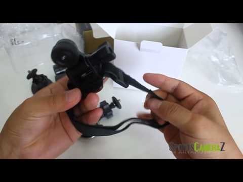 Popular Sports Action Camera Mini F9 DVR Unboxing Review for Bike Moto Helmet