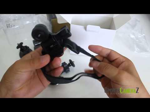 Popular Sports Action Camera Mini F9 DVR Unboxing Review for Bike Moto Helmet