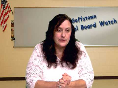 Goffstown School Board Watch with Host, Donna Pinard - Mountain View Middle Schoole