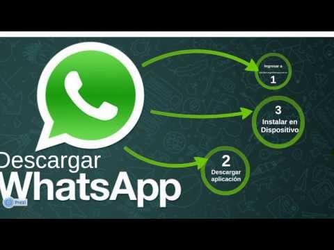 Descargar Whatsapp para Cualquier Celular. Dispositivo. Android. o PC Gratis