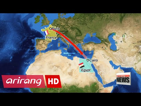 Submarine deployed in search for EgyptAir Flight MS 804