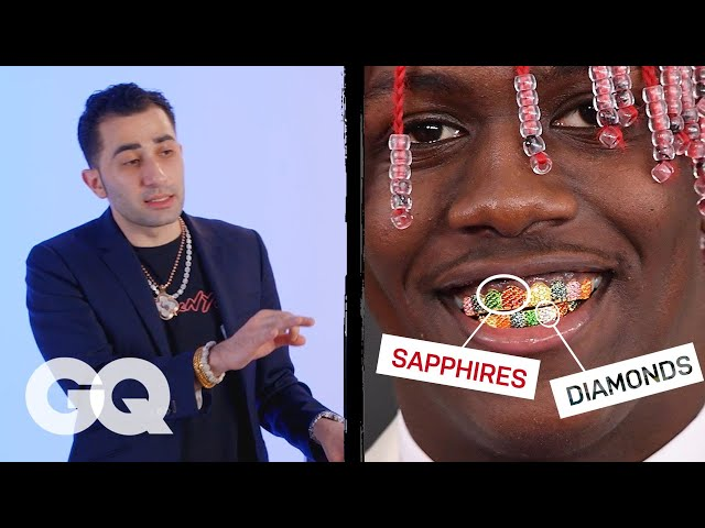 Jewelry Expert Critiques Rappers' Grillz | Fine Points | GQ thumbnail