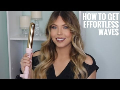 How I Curl My Hair Everyday - Effortless Waves & Curls Hair Tutorial   Faith Drew X L'ange