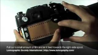 Loading 35mm film to your Zenit camera
