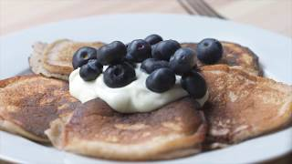 Banana Pancakes Recipe | Swim Fitness Meal Plan | Eat Well, Live Well, Swim Well