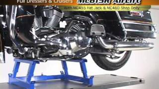 K&L MC615R 1000 lb Air Lift-Full Dresser & Cruiser Demo