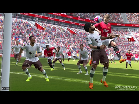Pro Evolution Soccer 2015 FC Bayern vs. FC Barcelona PS4 Gameplay (HD) 1080p