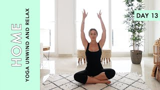 Day 13: Yoga Unwind and Relax - At Home (Quarantine Edition)