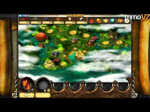 Let's Play Cultures Online #001 - Kostenloses Aufbau-Strategiespiel (Gameplay. Testbericht. Trailer)