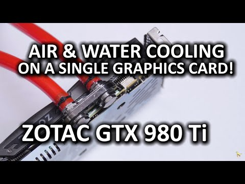 ZOTAC GTX 980 Ti Arctic Storm - Insane water cooled performance?
