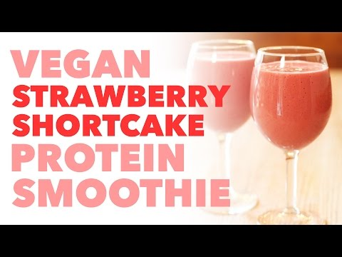 Fast Easy Raw Vegan Strawberry Shortcake | How To Save ...