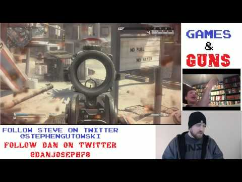 Raw Video: Call of Duty Ghosts Gun Game & Obamacare | Games & Guns #6
