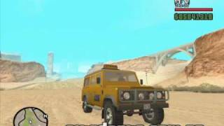 Land Rover Defender 110SW Taxi - GTA San Andreas