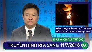 Tin tức: Hàng chục căn nhà của người gốc Việt tại Campuchia bị cháy