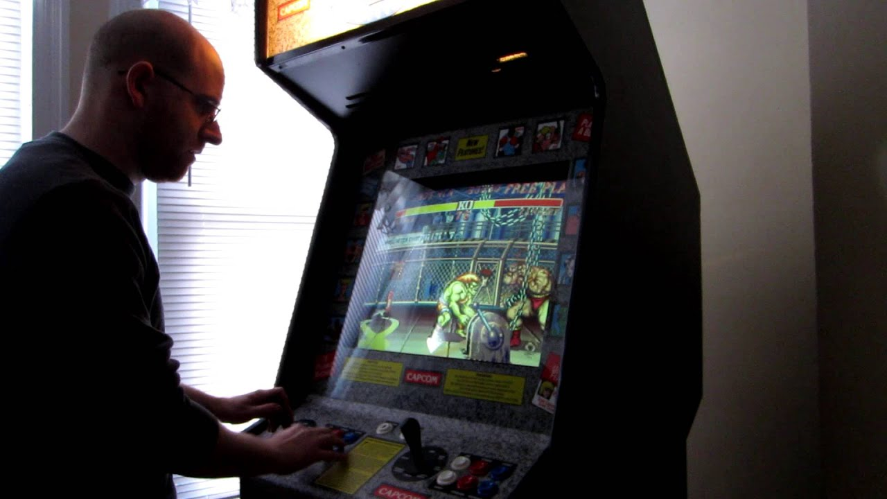 Street Fighter II Champion Edition - Arcade Cabinet For ...