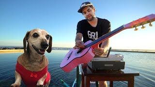 Seeing Sounds - at sea with my dog (music mashup)