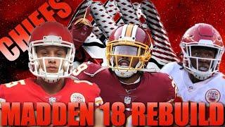 Best Late Round QB Prospect Realistic Rebuild of the Kansas City Chiefs| Madden 18 Franchise Rebuild