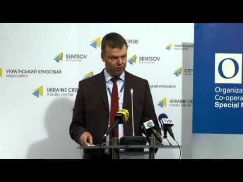 OSCE SMM. Ukraine Crisis Media Center, 29th of October 2015