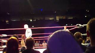 Jeff Jarrett VS. Earl Hebner (TNA Maximum Impact Tour 2011 Berlin Deutschland)