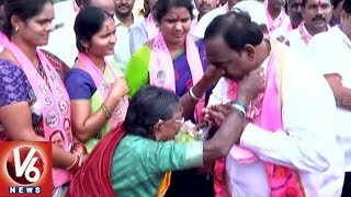 TRS Candidate Sathish Speed Up Election Campaign In Husanabad | TS Assembly Polls