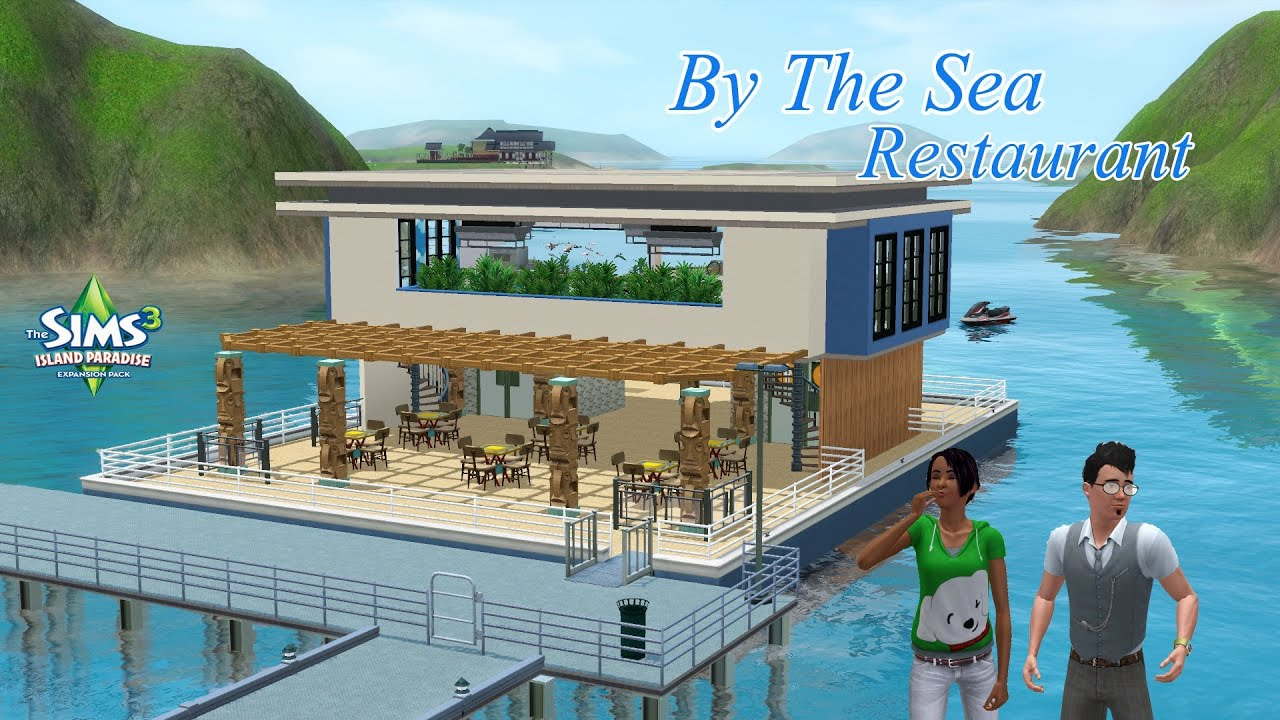 Sims  How To Build A Houseboat Port