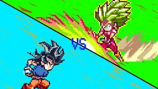 Goku V.S. Kefla (Dragon Ball Super - Sprite Animation)
