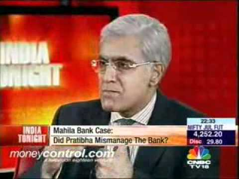 Presidential Candidate Pratibha Patil expose 1_2.Arun Shourie@Karan Thapar's India Tonight.