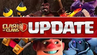 CLASH OF CLANS SPRING UPDATE IS HERE