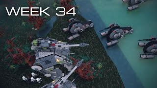 Building Kashyyyk in LEGO - Week 34: DECISION TIME!!!