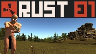 RUST #001 - 6 Nackedeis im Überlebenskampf [720p] [deutsch]