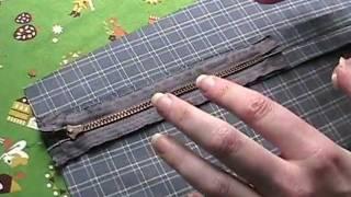 How to Sew a Zipper In a Seam