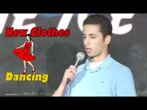 Stand Up Comedy By Fahim Anwar - New Clothes Dancing video