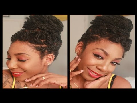 How To Install Havana / Marley Twists (Natural Invisible Root Method)
