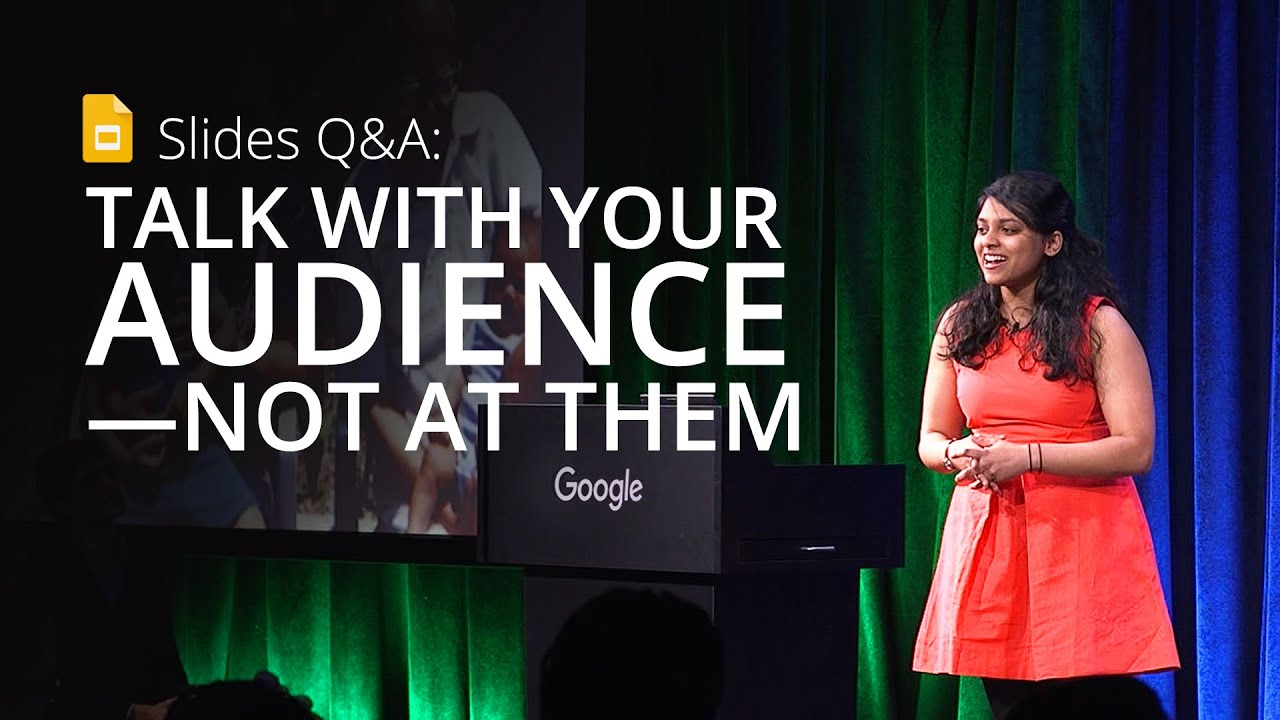Introducing Slides Q&A: A new way to talk with your audience—not at them