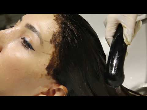 Hair color by Italian hairstylist