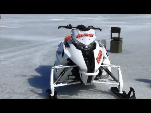 ARCTIC CAT F1100 TURBO VS. SKI DOO 800 MOD.