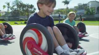 Radio Flyer Cyclone™ -- Zoom, Spin and Grin!