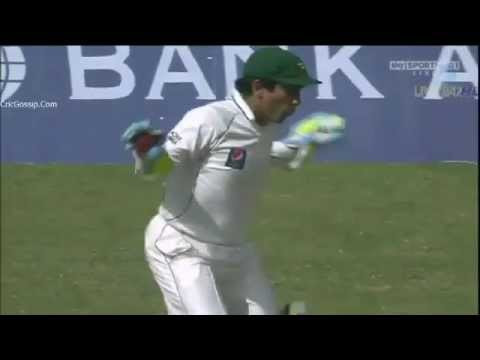 Adnan Akmal's Chicken Dance Against England